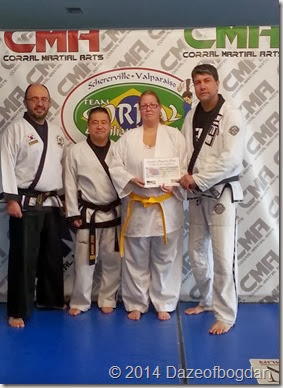 Kelli Yellow belt