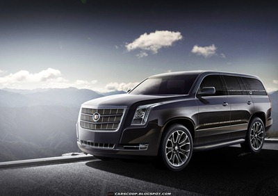 Cadillac on Future Cars  Gm S Upcoming 2014 Cadillac Escalade Luxury Suv