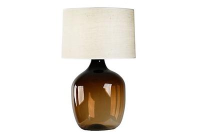 glass-vase-lamp-amber