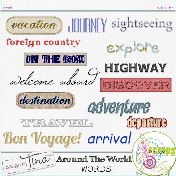 Design by Tina_Around The World_Words_prev