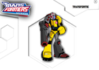 Transformers Animated Robot Builder