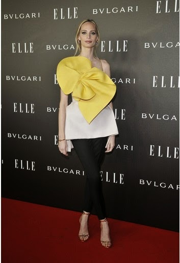Lauren Santodomingo - ELLE Style Awards 2014