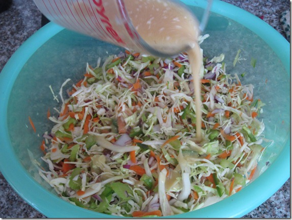 Cast Iron Therapy: Light and Tangy Honey Mustard Coleslaw