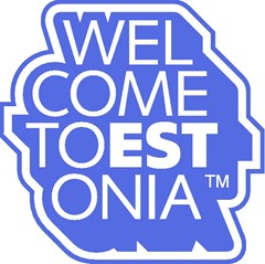 welcome to estonia logo