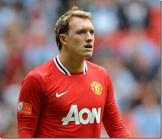 Phil Jones - one of Football Manager 2012 wonderkids