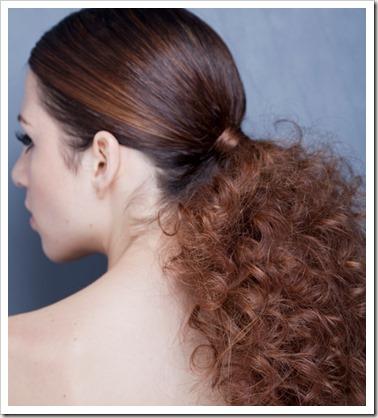 Inspiração: Penteados para cabelos finos e cacheados.