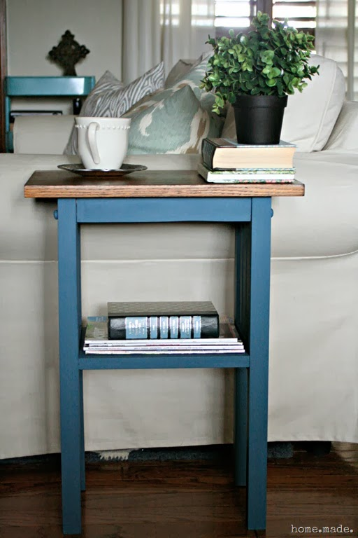 Chalk Paint End Table Redo