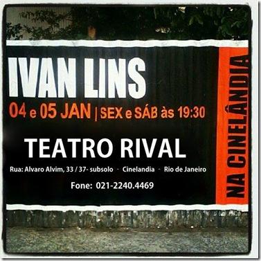 Ivan Lins - Teatro Rival