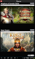 Screenshot of Games for Tablets