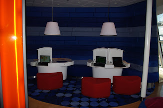 The Edge computer lounge