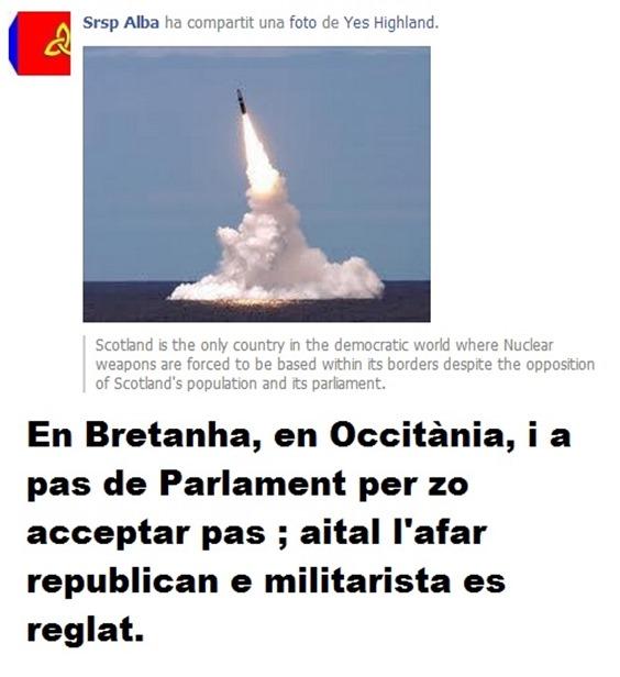 Arma nucleara en Escòcia