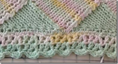 2013 Emily's blanket edging detail