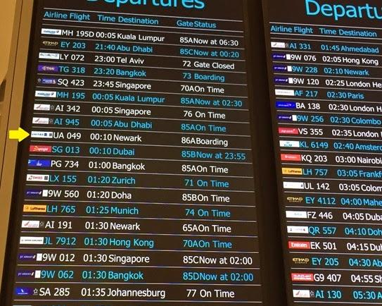 Flight Gate Details and Status
