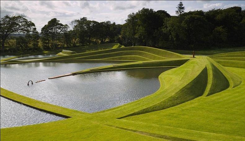 Ngắm khu vườn có kiến trúc độc nhất vô nhị trên thế giới