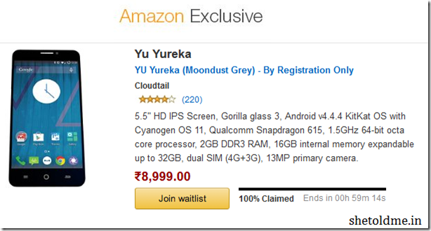 Micromax+Yu+Yureka+Amazon+Flash+Sale+02