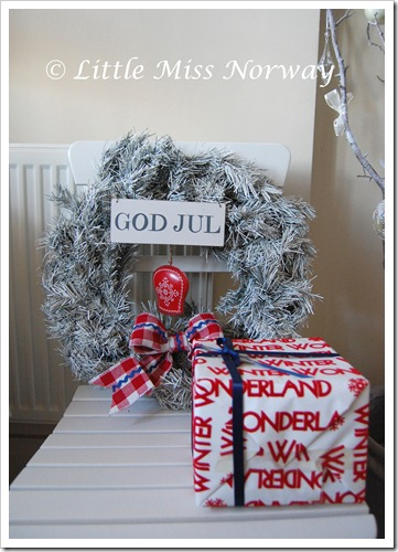 GOD JUL WREATH