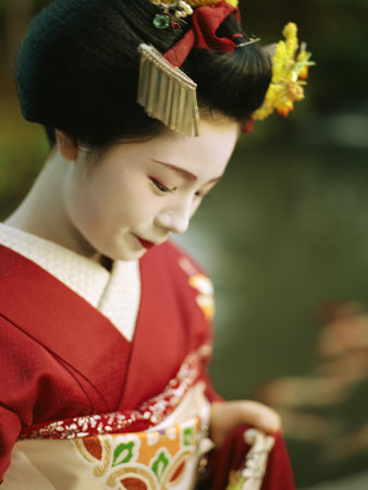 Geisha A Portrait of a Kimono-Clad.jpg