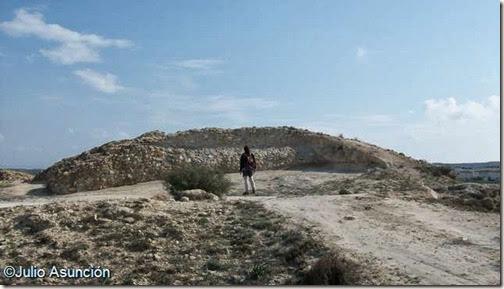 Cabezo Pequeño del Estaño - fortificación del VIII a C