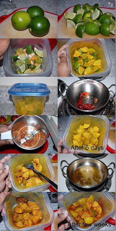 Lime pickle process