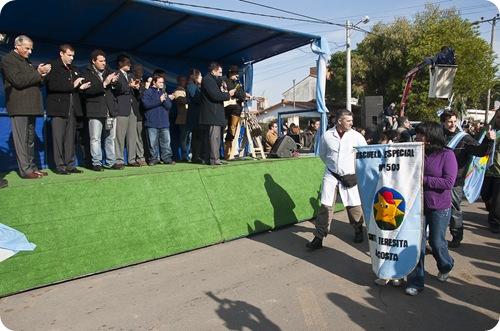 Desfile cívico institucional