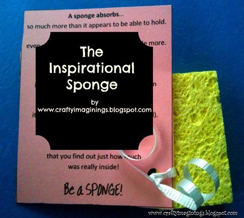 Inspirational Sponge