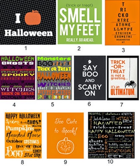 2011 Halloween Printables