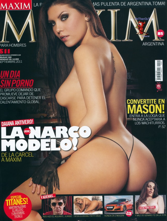 Fotos de Daiana Antivero Maxim Argentina Septiembre 2011