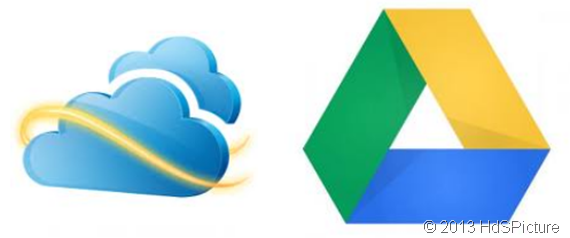 Skydrive vs Google Drive