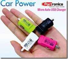 Amazon: Buy Portronics USB Car Charger at Rs. 189