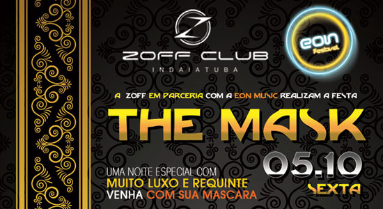 Festa The Mask na Zoff Club em Indaiatuba