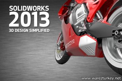 SolidWorks 2013 SP3 32 ve 64 Bit Orjinal Türkçe - İngilizce Tek Link indir