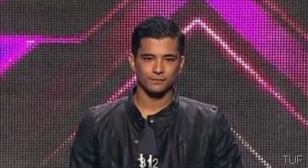 Chris Cayzer in The X Factor Australia
