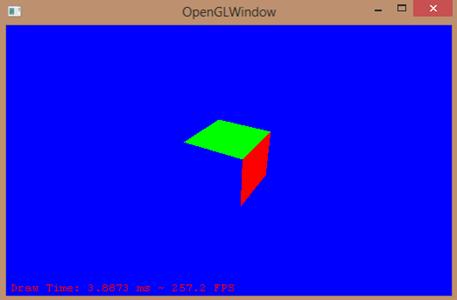 net opengl window