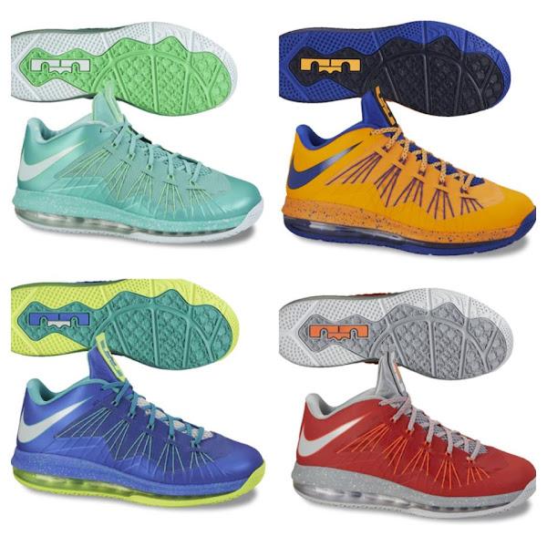 Nike Air Max LeBron X 8211 Yellow and Black 8211 Sample