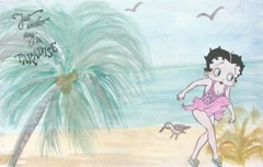 Betty Boop postcard for Jeri 6.2012