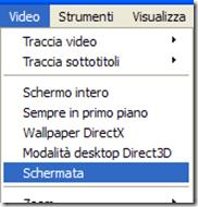VLC Schermata