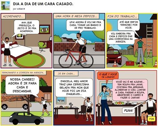 O DIA A DIA DE UM CARA CASADO - WiTiaN bloG