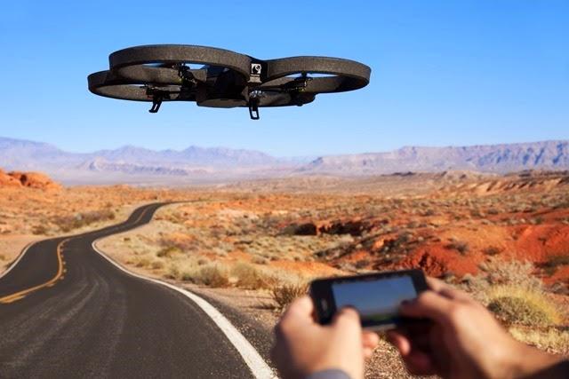 #3. A.R. Parrot Drone 2.0
