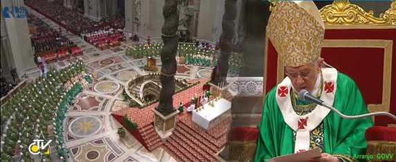 Homilia Bento XVI - Encerr. Siniodo Bispos -28.10.12