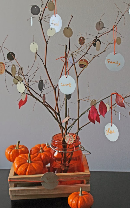 DIY Thankful Tree - Thanksgiving Craft