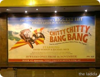 Chitty Chitty Bang Bang Capitol Theatre Sydney Haymarket