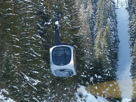 Vacanta Kaprun - Zell am See: telecabina facuta de Porsche