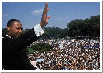 Martin Luther King Jr. - Francis Miller, 1963 – Arquivo de Fotos Google LIFE [http://images.google.com/hosted/life]