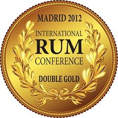 Medalla Doble Oro-Ron Ocumare Añejo-International Rum Conference