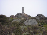 Rantemario summit pillar (Daniel Quinn, July 2009)