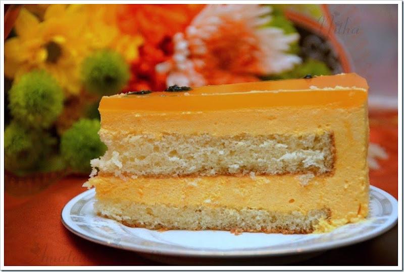 Mango Mousse Cake 4
