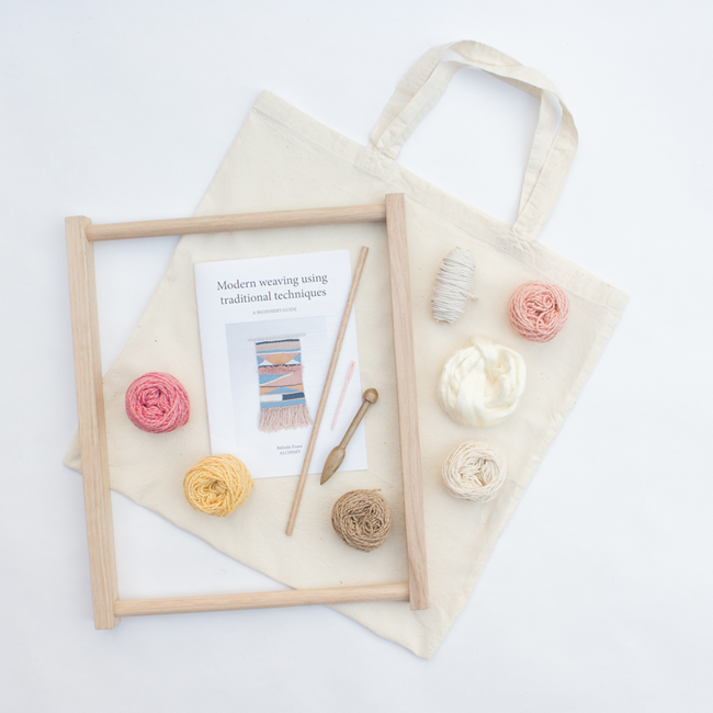Eco Weaving Kit by Alchemy - all components