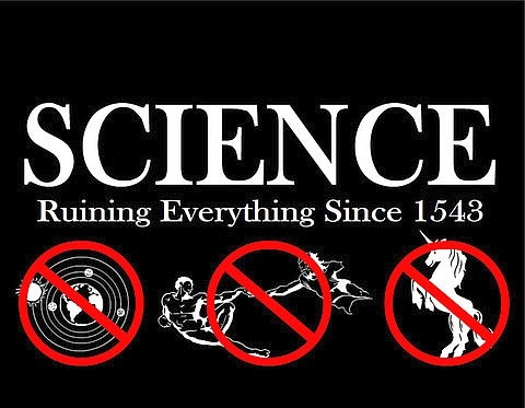 Наука разрушает все…