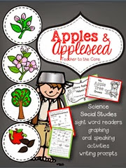 The best apple unit ever for 1st grade with 2 emergent readers