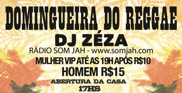 domingueira do reggae somjah